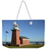 Light House At Santa Cruz Weekender Tote Bag