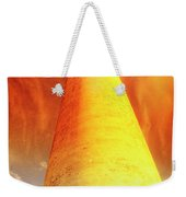 Light House At Sunset, Cape May, Nj Weekender Tote Bag