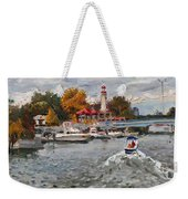 Light House Mississauga Weekender Tote Bag