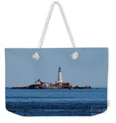 Light House On The Rocks Weekender Tote Bag
