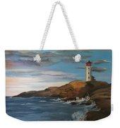 Light House Weekender Tote Bag