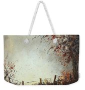 Light In Autumn Weekender Tote Bag