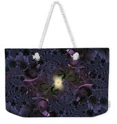 Light In The Fractal Night Weekender Tote Bag