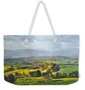 Light In The Valley At Rhug. Weekender Tote Bag