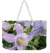 Light Lavender Flowers Weekender Tote Bag