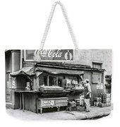 Light Lunch - Hot Dogs - Coca Cola Weekender Tote Bag