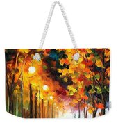 Light Of Autumn Weekender Tote Bag