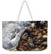 Light On Rocks And Ice  Weekender Tote Bag
