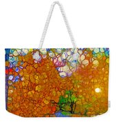 Light On The Autumn Path Weekender Tote Bag