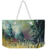 Light On Trees Weekender Tote Bag