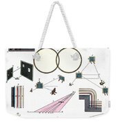 Light Optics, Reflection & Refraction Weekender Tote Bag