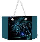 Light Painted Arched Tree  Weekender Tote Bag