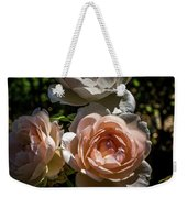 Light Pink Roses Weekender Tote Bag
