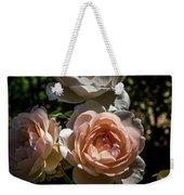 Light Pink Roses Weekender Tote Bag