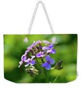 Light Purple Flowers  Weekender Tote Bag