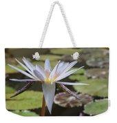 Light Purple Lily Weekender Tote Bag