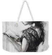 Light Reading  Weekender Tote Bag