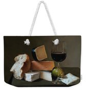 Light Repast Weekender Tote Bag
