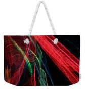 Light Ribbons Weekender Tote Bag