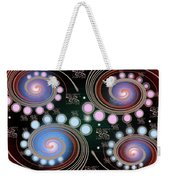 Light Rotate On Spiral Orbit Weekender Tote Bag