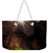 Light Shine Down Weekender Tote Bag