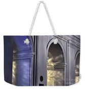 Light Splattered Arches Weekender Tote Bag