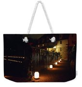 Light The Way Home For The Holidays Weekender Tote Bag