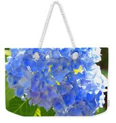 Light Through Blue Hydrangeas Weekender Tote Bag