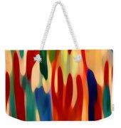Light Through Flowers Weekender Tote Bag by Amy Vangsgard