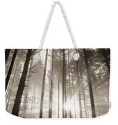 Light Through Forest Weekender Tote Bag