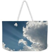 Light Through The Clouds Weekender Tote Bag