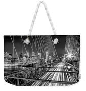 Light Trails Of Manhattan Weekender Tote Bag