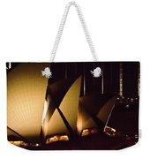 Light Up Sail Of Opera House  Weekender Tote Bag