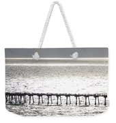 Light Wash Weekender Tote Bag