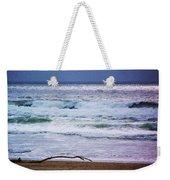 Light Waves To Sand Weekender Tote Bag