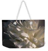 Light Wet Flower Weekender Tote Bag