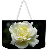 Light Yellow Rose 1 Weekender Tote Bag