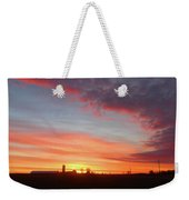 Lighted Clouds Weekender Tote Bag