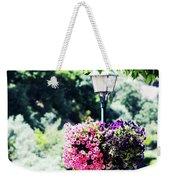 Lighted Flowers Weekender Tote Bag