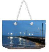 Lighted Pier Weekender Tote Bag