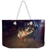 Lighted Pony Weekender Tote Bag