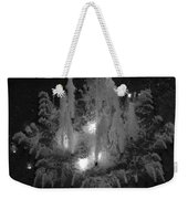 Lighted Star Fountian Weekender Tote Bag