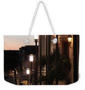Lighted Walkway Weekender Tote Bag