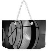 Lighted Wall In Black And White Weekender Tote Bag