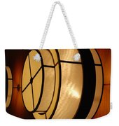 Lighted Wall  Weekender Tote Bag