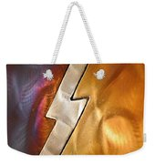 Lightening Bolt Abstract Weekender Tote Bag