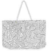 Lightening Weekender Tote Bag