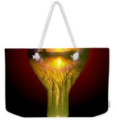 Lighthearted Sunset Weekender Tote Bag