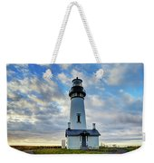 Lighthouse And Clouds Weekender Tote Bag