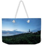 Lighthouse At Blue Hour Weekender Tote Bag